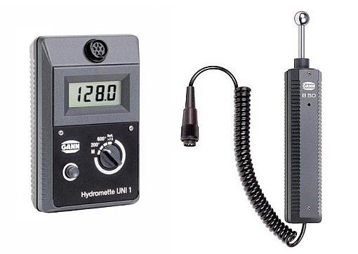 Gann LG1 kosteusmittari ja B50-pinta-anturi